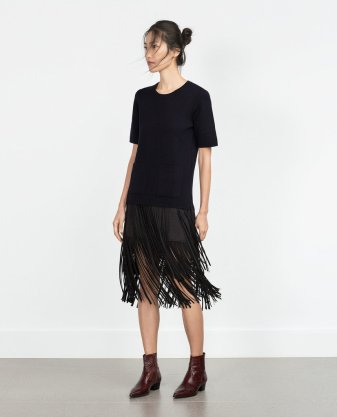 Fringed Skirt ($70)